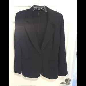 White House Black Market Suit (Blue)